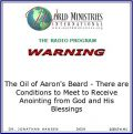 The Oil of Aaron's Beard